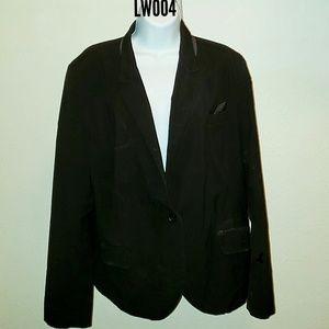 Women's Black Blazer - Size 18